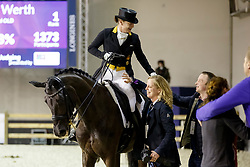 WERTH Isabell (GER), Weihegold OLD, ARNS-KROGMANN Christine (Pferdebesitzer)<br /> Paris - FEI World Cup Finals 2018<br /> FEI World Cup Dressage Freestyle/Kür<br /> www.sportfotos-lafrentz.de/Stefan Lafrentz<br /> 14. April 2018