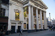 The Lion King at the Lyceum Theatre in London, England, United Kingdom. West End musicals are ever increasingly popular with audiences in Theatreland.