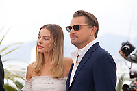 Margot Robbie and Leonardo DiCaprio at Once Upon A Time... In Holywood film photo call at the 72nd Cannes Film Festival, Wednesday 22nd May 2019, Cannes, France. Photo credit: Doreen Kennedy
