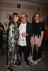 Cherryl Cohen, Frank Cohen and Georgina Cohen at the Fortnum & Mason Food and Drink Awards, Fortnum & Mason Food and Drink Awards, London, England. 10 May 2018.