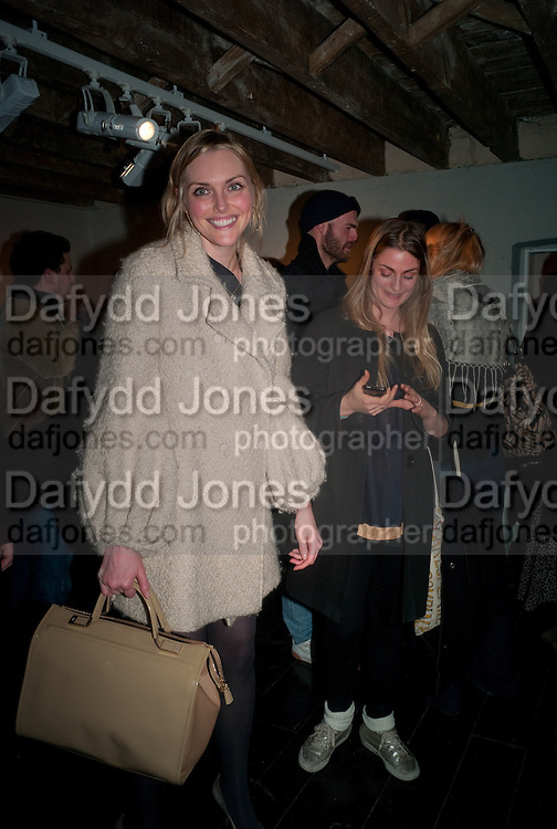 SOPHIE DAHL; SASKIA PRICE, There is a Land Called Loss | Annie Morris | Pertwee Andersen and Gold, in association with Adam Waymouth Art , Private View, 15 bateman st. W1 2nd February 2012