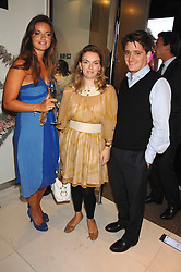 Left to right, LADY NATASHA RUFUS-ISAACS and CHARLES & LADY SYBILLA HART at a party to launch jeweller Boodles new store at 178 New Bond Street, London W1 on 26th September 2007.<br /><br />NON EXCLUSIVE - WORLD RIGHTS