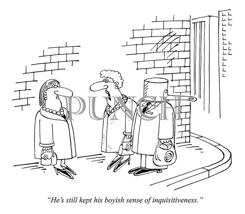 """He's still kept his boyish sense of inquisitiveness."""