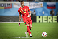 Toby Alderweireld of Belgium during the 2018 FIFA World Cup Russia, Semi Final football match between France and Belgium on July 10, 2018 at Saint Petersburg Stadium in Saint Petersburg, Russia - Photo Thiago Bernardes / FramePhoto / ProSportsImages / DPPI