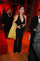 MARIE HELVIN at a dinner held at the Natural History Museum to celebrate the re-opening of their store at 175-177 New Bond Street, London on 17th October 2007.<br /><br />NON EXCLUSIVE - WORLD RIGHTS