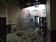 June 2014. Even the battered light-fittings have been stolen.