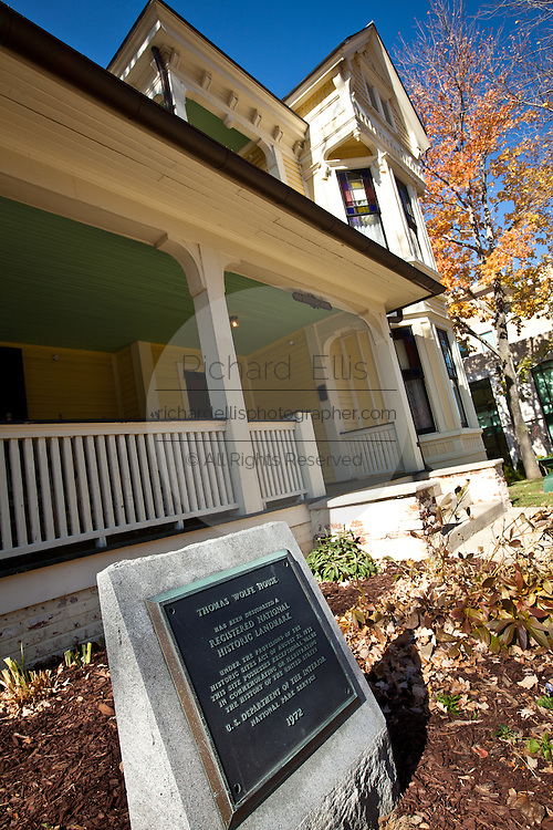Writer Thomas Wolfe Memorial and home in Asheville, NC.