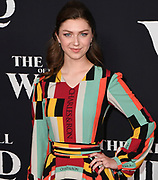 """13 February 2020 - Hollywood, California - Isabella Blake-Thomas at the World Premiere of twentieth Century Studios """"The Call of the Wild"""" Red Carpet Arrivals at the El Capitan Theater."""