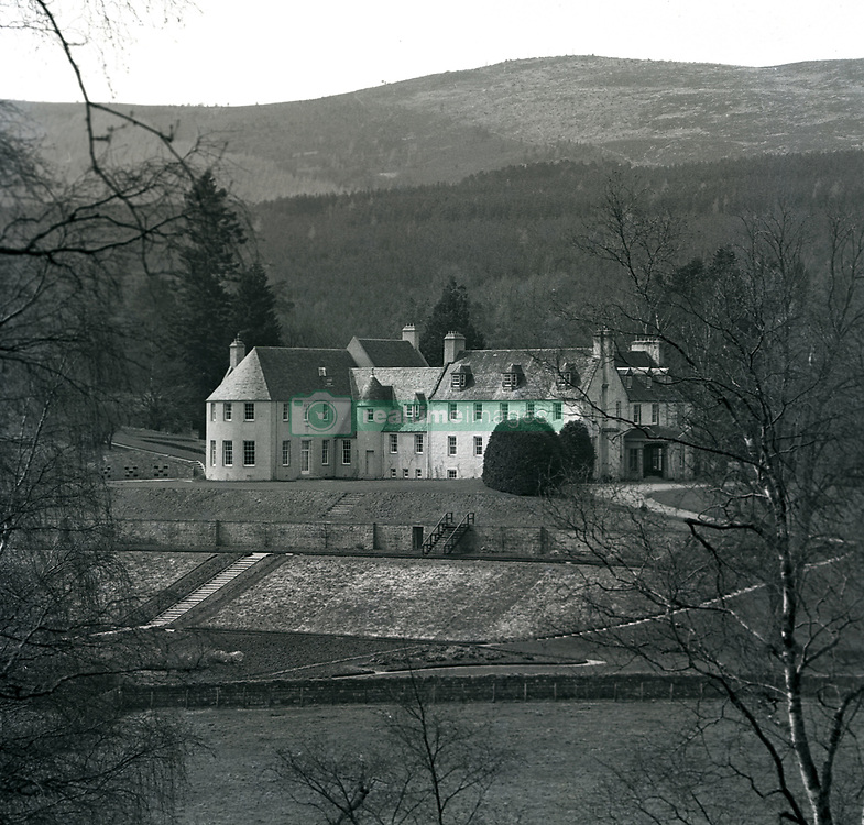 File photo dated 01/04/63 of Birkhall on Balmoral, the Royal Family's Scottish estate. Balmoral in the Highlands, one of the royals' favourite places, held many memories for the Duke of Edinburgh. The Queen was once said to never be happier than when she was at Balmoral, Philip, too, loved the outdoor life that was synonymous with their annual break, which stretched from the end of July into October. Issue date: Friday April 4, 2021.