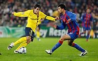 Fotball<br /> UEFA Champions League<br /> Basel v Barcelona<br /> 22.10.2008<br /> Foto: EQ Images/Digitalsport<br /> NORWAY ONLY<br /> <br /> Tor zum 0:3 duch Bojan Krkic gegen Behrang Safar