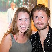 NLD/Amsterdam/20160825 - Life after Football Art Issue launch, Lola Brood en Lasse Schöne