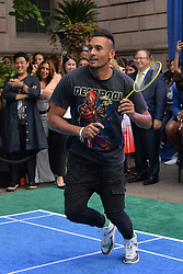 August 23, 2018 - New York, NY, USA - August 23, 2018  New York City..Nick Kyrgios attending the 4th Annual Palace Invitational at the Lotte Palace Hotel on August 23, 2018 in New York City. (Credit Image: © Kristin Callahan/Ace Pictures via ZUMA Press)