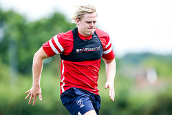 Dan Thomas in action as Bristol Bears train and prepare for the 2018/19 Gallagher Premiership Rugby Season - Mandatory by-line: Robbie Stephenson/JMP - 16/07/2018 - RUGBY - Clifton Rugby Club - Bristol, England - Bristol Bears Training