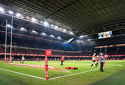 A general view of Principality Stadium, home of Wales<br /> <br /> Photographer Simon King/Replay Images<br /> <br /> Under Armour Series - Wales v Tonga - Saturday 17th November 2018 - Principality Stadium - Cardiff<br /> <br /> World Copyright © Replay Images . All rights reserved. info@replayimages.co.uk - http://replayimages.co.uk