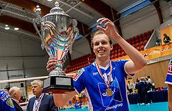 02-10-2016 NED: Supercup Abiant Lycurgus - Coniche Topvolleybal Zwolle, Doetinchem<br /> Lycurgus wint de Supercup door Zwolle met 3-0 te verslaan / Sander Scheper #11 of Lycurgus