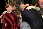 """Première familievoorstelling 'Mr Finney' in Theater Diligentia te Den Haag. De nieuwsgierige Mr Finney is gebaseerd op de bekende boekjes van Laurentien van Oranje en Sieb Posthuma. In de boeken stelt Mr Finney veel vragen over de wereld om zich heen en beleeft hij veel avonturen op zoek naar antwoorden.<br /> <br /> Premiere family show """"Mr. Finney 'Diligentia Theater in The Hague. The curious Mr. Finney is based on the famous books of Laurentien van Oranje and Sieb Posthuma. The book suggests Mr. Finney many questions about the world around him and he experiences many adventures looking for answers.<br /> <br /> Op de foto / On the photo:  Marie-Claire Witlox en partner Jeroen van Koningsbrugge"""