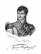 Jerome Bonaparte (1784-1860) Brother of Napoleon: king of Westphalia 1807-1813. Lithograph c1820