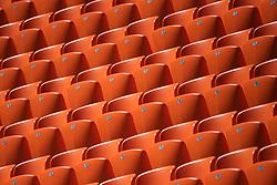 June 26, 2018 - Ekaterinburg, RUSSIA - 180626 Chairs at Ekaterinburg Arena during the FIFA World Cup on June 26, 2018 in Ekaterinburg..Photo: Joel Marklund / BILDBYRN / kod JM / 87732 (Credit Image: © Joel Marklund/Bildbyran via ZUMA Press)