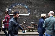 Scenes at Brick Lane, East London.