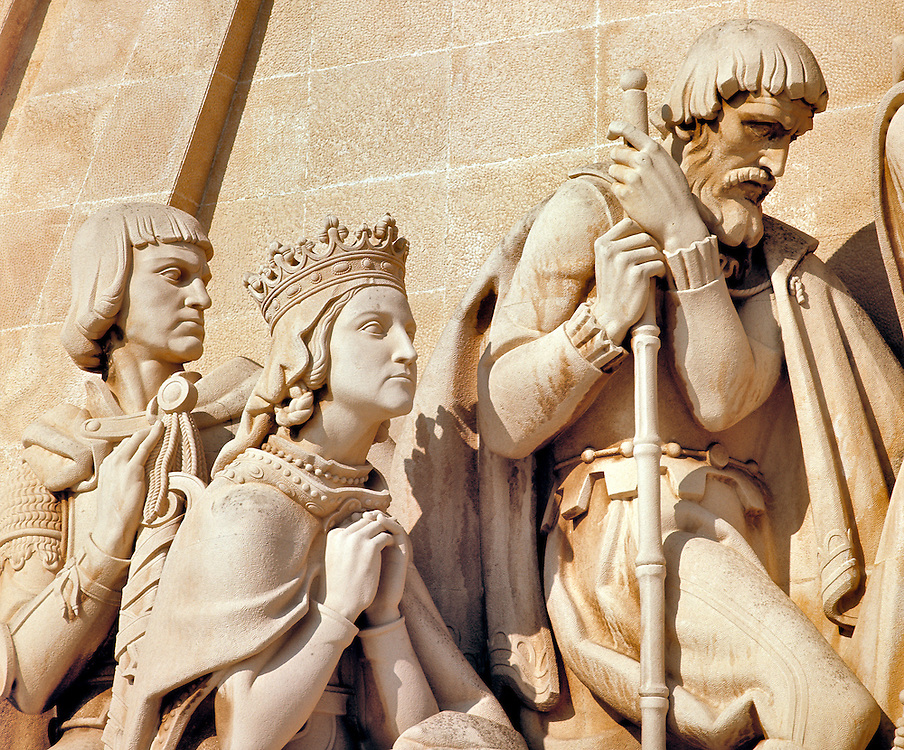 Important figures of the time are featured on the Monument to the Discoveries in Lisbon, Portugal.