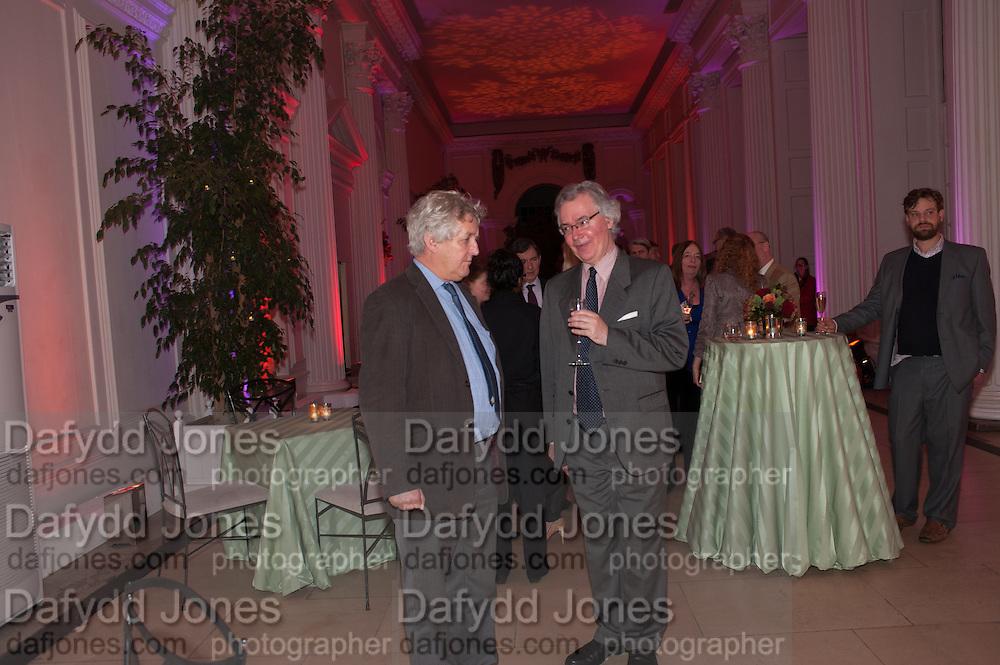 JAMES HUGHES-ONSLOW; DANIEL JOHNSON, Leonie Frieda book party  for ' The Deadly Sisterhood.' The Orangery, Kensington Palace. London. 20 November 2012.