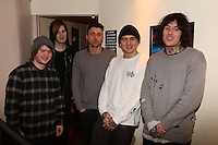 BRITs Week, Bring Me The Horizon Gig, Electric, Brixton London. Feb 18 - 2016.