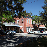 General street view of the city of Micanopy along the Old Florida Heritage Parkway in Micanopy, Florida. (AP Photo/Alex Menendez) Florida scenic highway photos from the State of Florida. Florida scenic images of the Sunshine State.