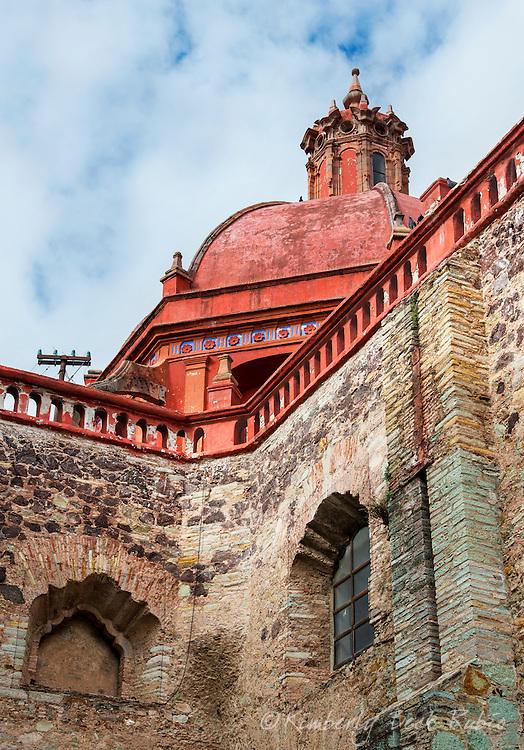 Iglesia de San Diego de Alcala in the historic Colonial city of Guanajuato, Mexico.