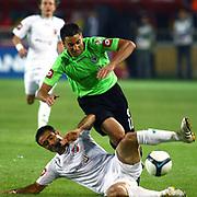 Konyaspor's Eser YAGMUR (B) during their Play Off Second leg match at AliSamiYen Stadium in Istanbul Turkey on Thursday, 20 May 2010. Photo by TURKPIX
