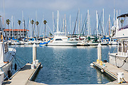 Yachts at Oceanside Harbor