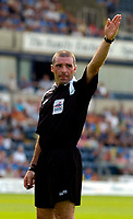 Photo: Alan Crowhurst.<br />Wycombe Wanderers v Wrexham. Coca Cola League 2.<br />05/08/2006. Referee Pat Miller.