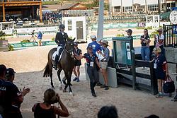 Hart Rebecca, USA, El Corona Texel<br /> World Equestrian Games - Tryon 2018<br /> © Hippo Foto - Sharon Vandeput<br /> 22/09/2018