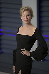 February 24, 2019 - Beverly Hills, California, U.S - Renee Zellweger on the red carpet of the 2019 Vanity Fair Oscar Party held at the Wallis Annenberg Center in Beverly Hills, California on Sunday February 24, 2019. JAVIER ROJAS/PI (Credit Image: © Prensa Internacional via ZUMA Wire)