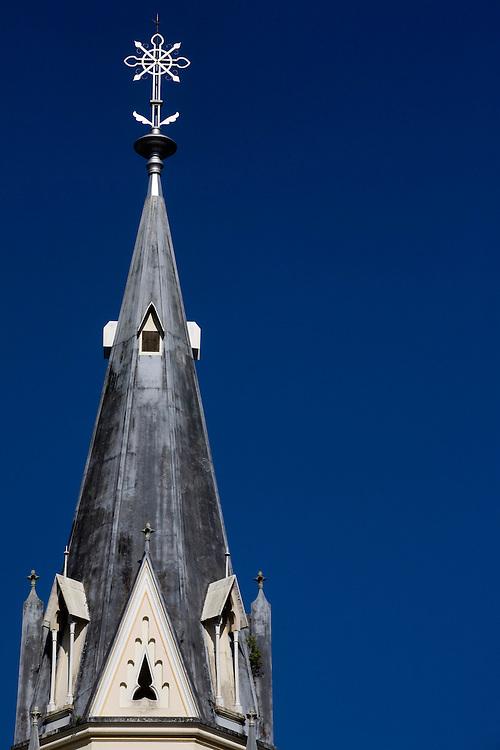 Ponte Nova_MG, Brasil...Igreja Matriz de Sao Sebastiao no centro historico da cidade de Ponte Nova...The Sao Sebastiao church in the historical center in Ponte Nova city...Foto: BRUNO MAGALHAES / NITRO