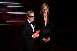 Allison Janney and Gary Oldman present the Oscar® for performance by an actor in a leading role during the live ABC Telecast of the 91st Oscars® at the Dolby® Theatre in Hollywood, CA on Sunday, February 24, 2019.