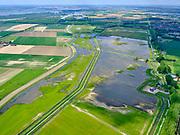 Nederland, Zuid-Holland, Dordrecht, 14-05-2020; Eiland van Dordrecht, Nieuwe Dordtse Biesbosch, Zeedijk - Noorderels. Nieuwe Merwede (links). Natuurgebied en recreatiegebied.<br /> New Dordtse Biesbosch, Zeedijk - Noorderels. New Merwede (left).<br /> <br /> luchtfoto (toeslag op standard tarieven);<br /> aerial photo (additional fee required);<br /> copyright foto/photo Siebe Swart