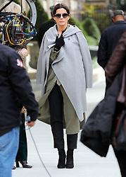 "Sandra Bullock is seen on the set of ""Ocean's 8"".<br /> (NYC)"