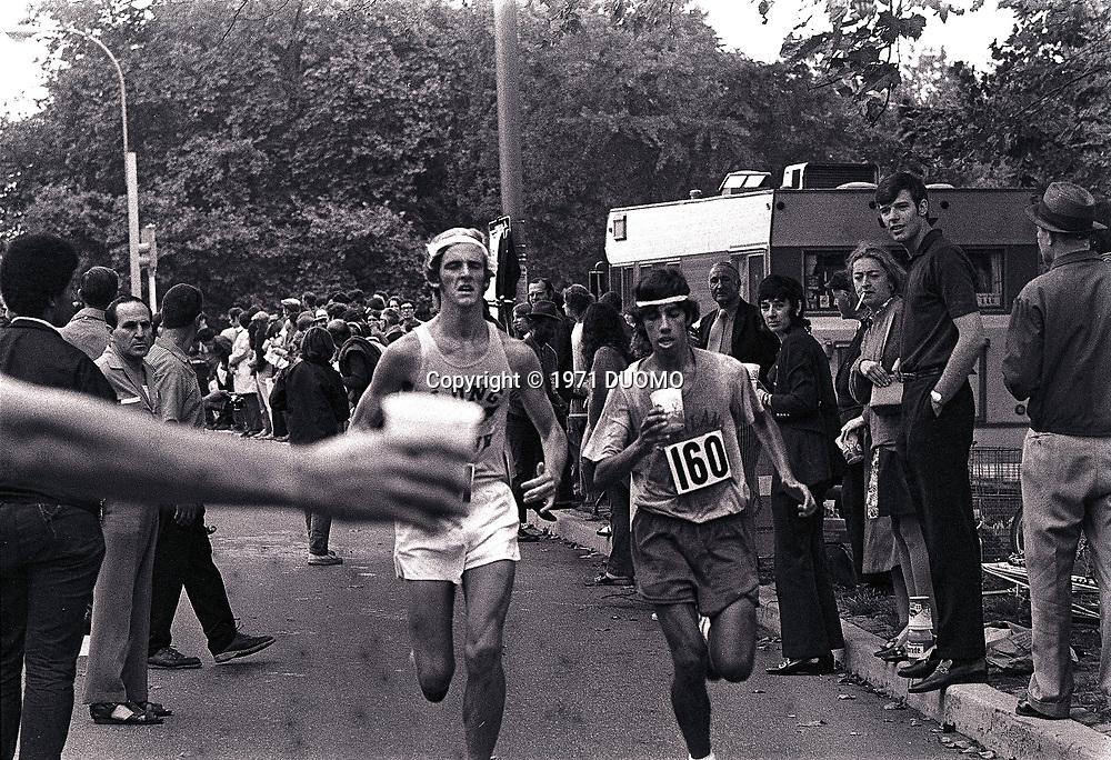 1971 New York City Marathon<br /> Central Park, New York
