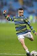 47 Phil Foden for Manchester City during the The FA Cup 3rd round match between Manchester City and Rotherham United at the Etihad Stadium, Manchester, England on 6 January 2019.
