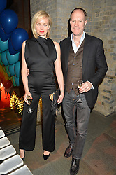 HARRY & BODIL BLAIN at 'The World's First Fabulous Fund Fair' in aid of the Naked Heart Foundation hosted by Natalia Vodianova and Karlie Kloss at The Roundhouse, Chalk Farm Road, London on 24th February 2015.