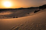 White sands dunes in Sardinia