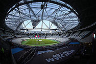 General view of London Stadium before k/o. EFL Cup, 3rd round match, West Ham Utd v Accrington Stanley at the London Stadium, Queen Elizabeth Olympic Park in London on Wednesday 21st September 2016.<br /> pic by John Patrick Fletcher, Andrew Orchard sports photography.