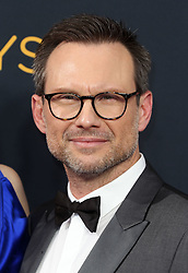 Christian Slater arriving for The 68th Emmy Awards at the Microsoft Theater, LA Live, Los Angeles, 18th September 2016.