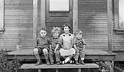 Taken at Hodson's place, June 22, 1924. Clyde, Jr. (on left). Near Portland, Oregon
