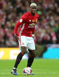 Paul Pogba of Manchester United  - Mandatory by-line: Matt McNulty/JMP - 26/02/2017 - FOOTBALL - Wembley Stadium - London, England - Manchester United v Southampton - EFL Cup Final