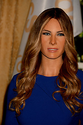 April 26, 2018 - Manhattan, New York, United States Of America - NEW YORK, NY - APRIL 25: New wax figure of the First Lady Melania Trump flanking a figure of US President Donald Trump at the Madame Tussaud's in New York City on April 25, 2018 on April 24, 2018 in New York City....People:  Melania Trump (Credit Image: © SMG via ZUMA Wire)