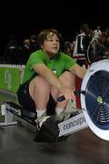 Birmingham, GREAT BRITAIN,  Frank CROSS, competing at the British Indoor Rowing Championships, [BIRC]. [Ergo Championships] National Indoor Arena. West Midlands 18/11/2007 [Mandatory Credit Peter Spurrier/Intersport Image.....