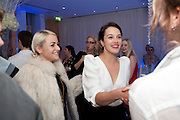 JAIME WINSTONE; JESSICA BROWN FINDLAY, , English National Ballet's party before performance of the ' The Nutcracker. St. Martin's Lane Hotel. London 14 December 2011.