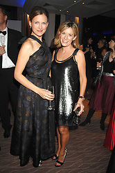 Left to right, news readers KATIE DERHAM and ANDREA CATHERWOOD at the 2007 Costa Book Awards held at The Intercontinental Hotel, One Hamilton Place, London W1 on 22nd January 2008.<br /><br />NON EXCLUSIVE - WORLD RIGHTS (EMBARGOED FOR PUBLICATION IN UK MAGAZINES UNTIL 1 MONTH AFTER CREATE DATE AND TIME) www.donfeatures.com  +44 (0) 7092 235465