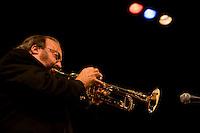 Special guest to Rowan University's 41st Jazz Festival, Joe Mosello, trumpeter extraordinaire.